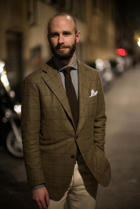 Escorial jacket Solito bespoke