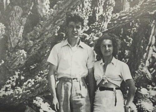 Francis and Lucette Lavabre