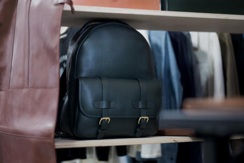 Frank Clegg leather backpack