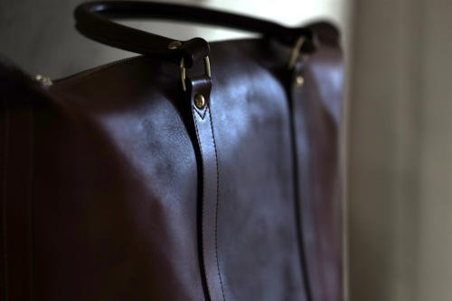 Frank Clegg leather tote