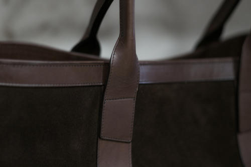 Frank Clegg suede tote