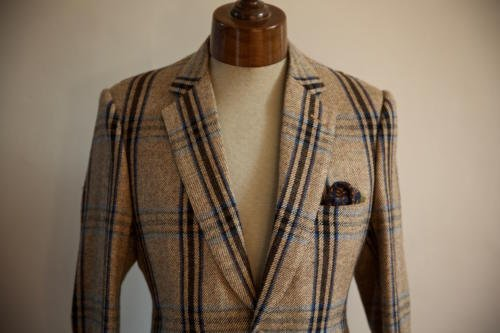 Huntsman tweed jacket hunting