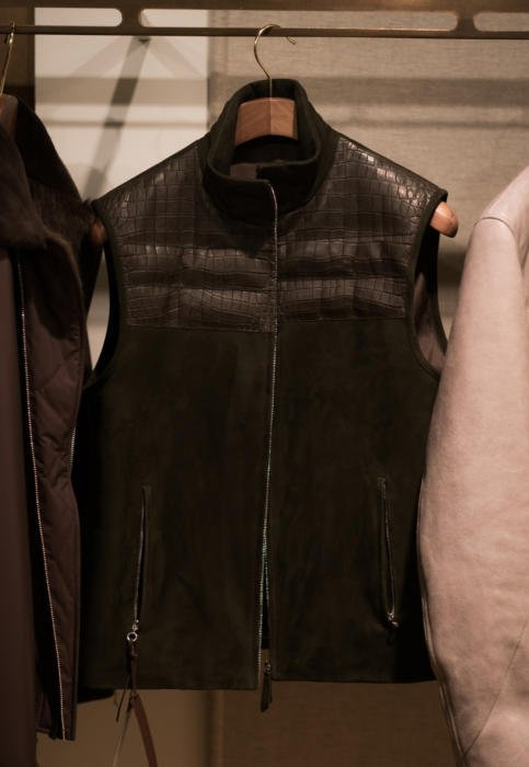 Seraphin leather jacket