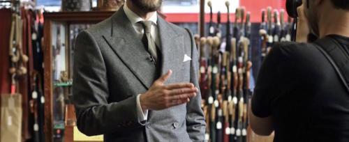 edward sexton flannel suit best of british copy
