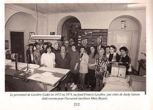 lavabre cadet factory 1972