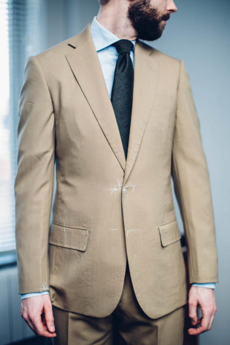 Cape Horn Holland and Sherry high twist suit