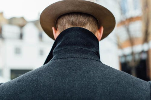 Edward Sexton coat collar