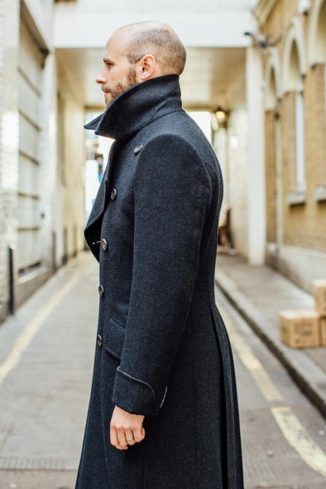 Edward Sexton overcoat