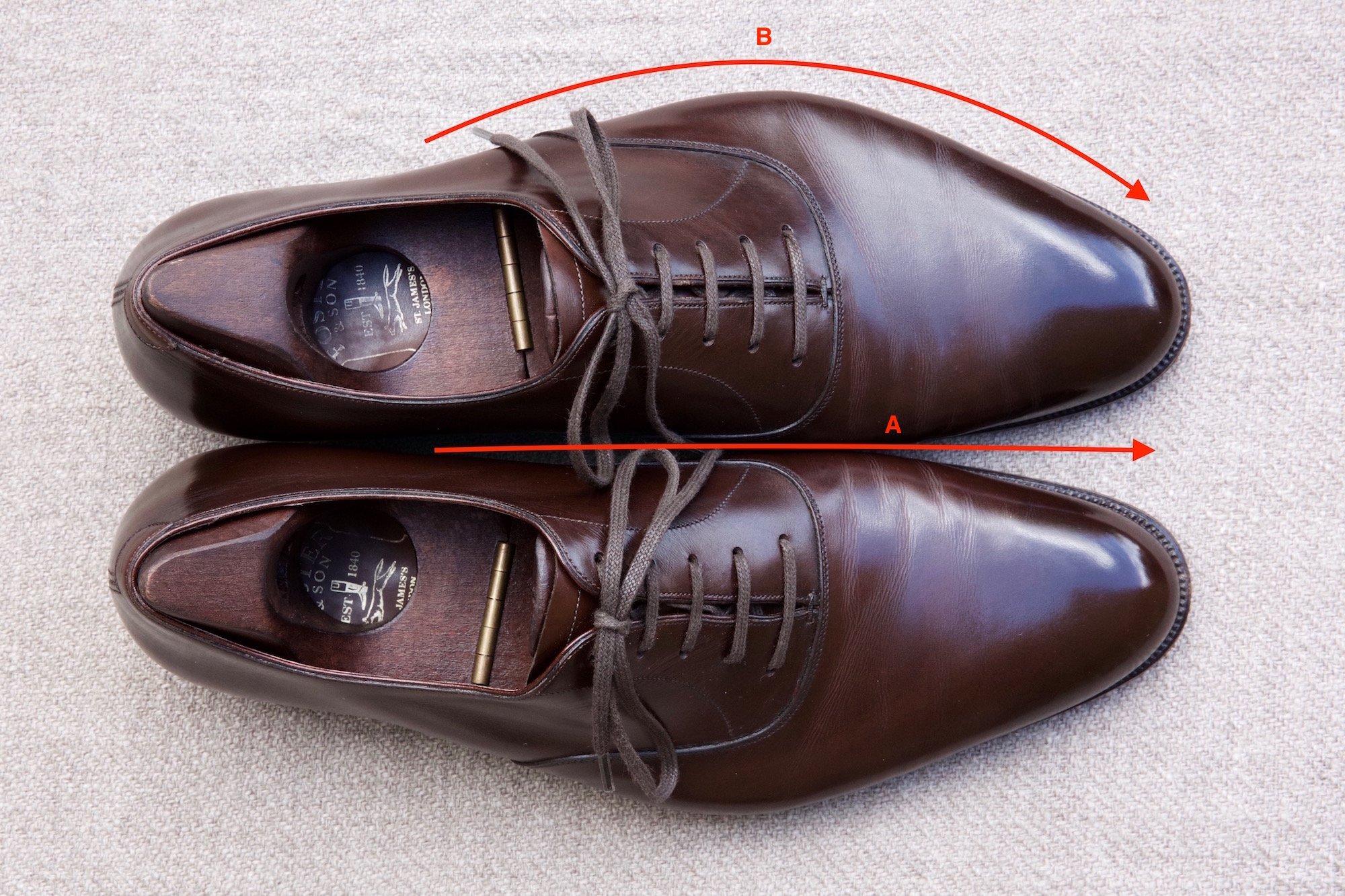 Foster & Son bespoke shoe last shape