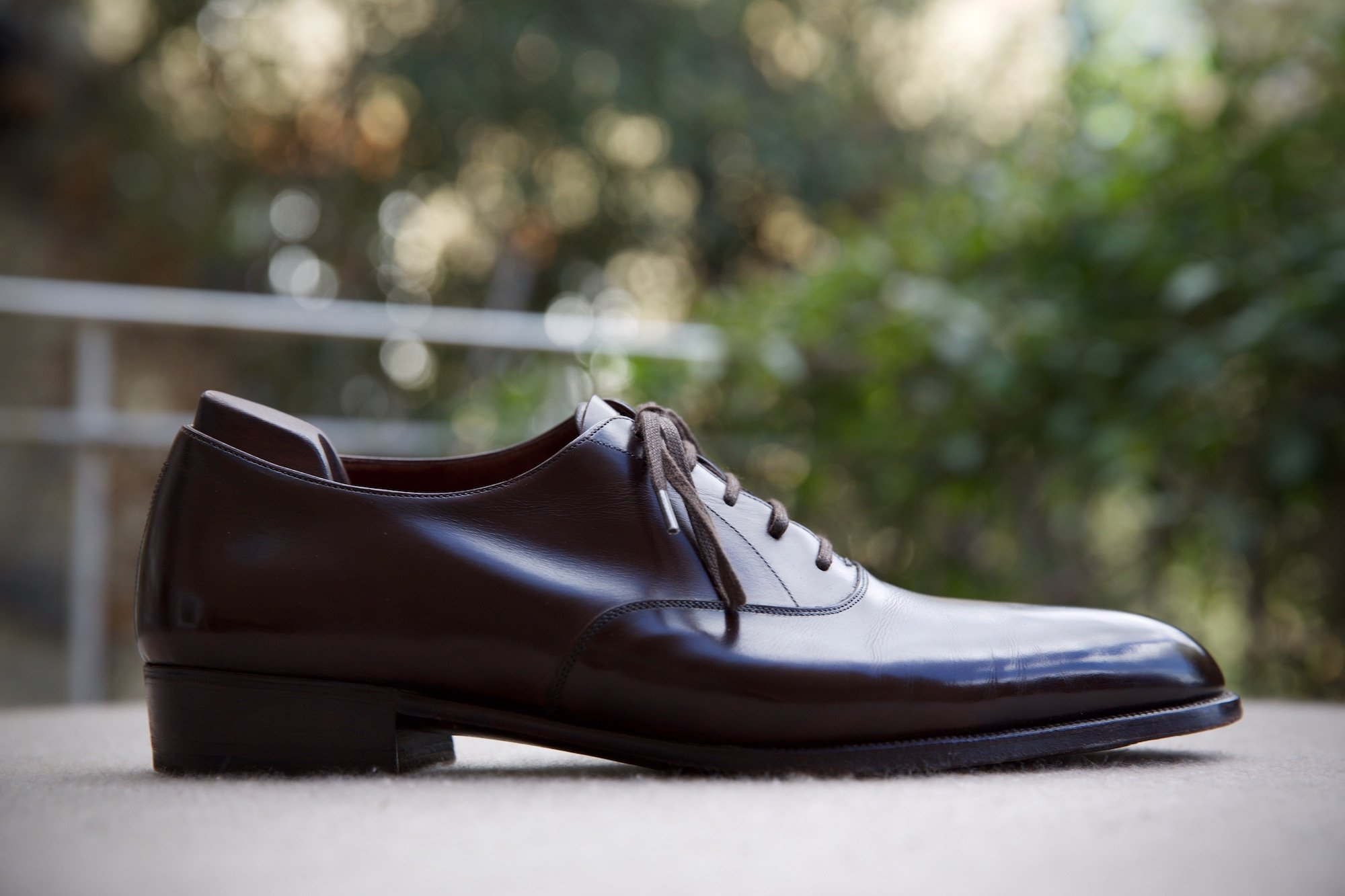 Foster & Son bespoke shoe profile