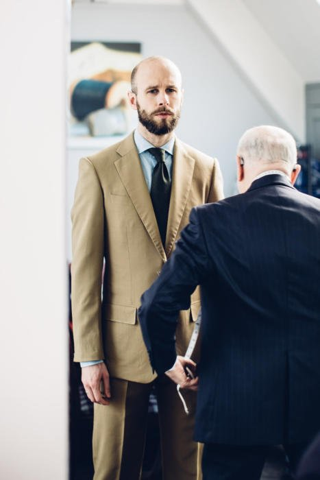 Manning and Manning bespoke suit