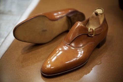 Philippe Atienza Meilleur Ouvrier de France shoe