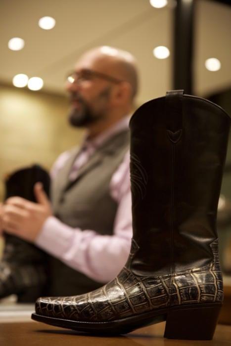 Philippe Atienza bespoke cowboy boot