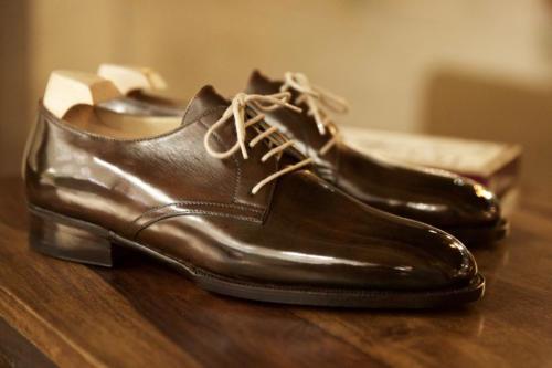 Philippe Atienza bespoke shoe derby