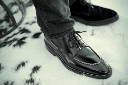 Philippe Atienza zip shoe