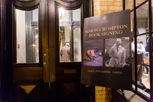 simon crompton book signing LeatherFoot