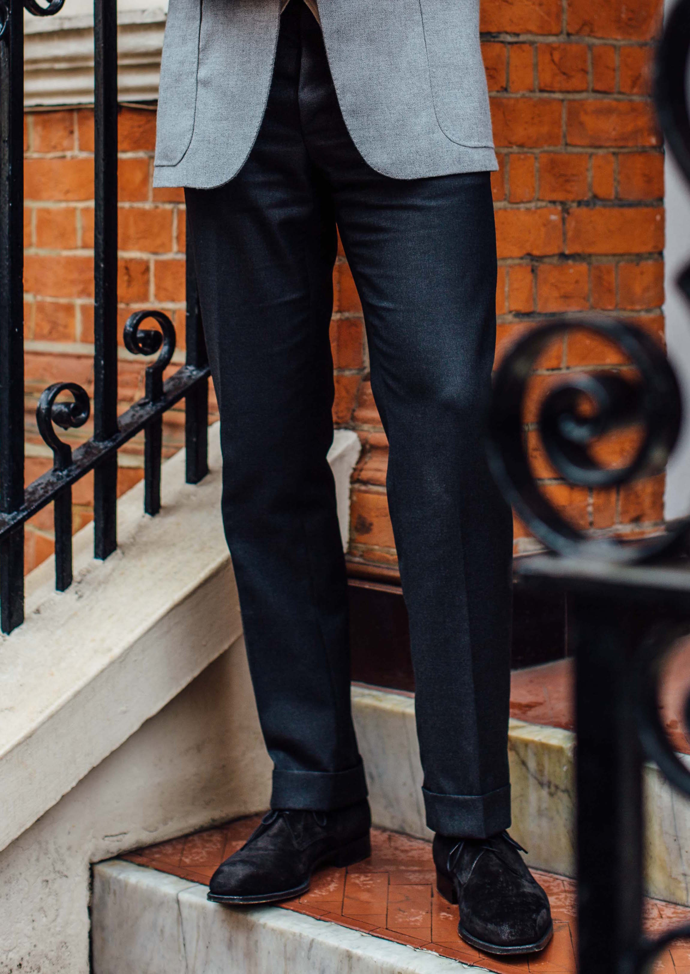 fce16758 Trousers to wear with grey jackets – Reader question – Permanent Style