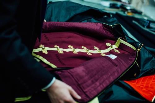 Dege & Skinner military jacket