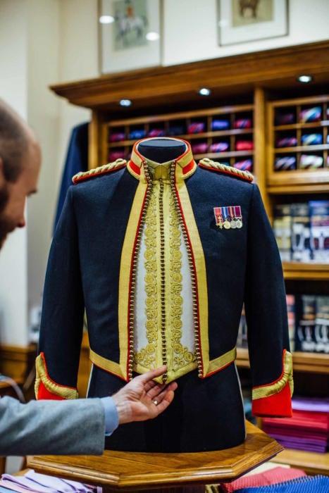 Dege & Skinner military tailoring
