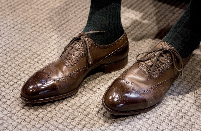 Saint Crispin's  personal last shoes