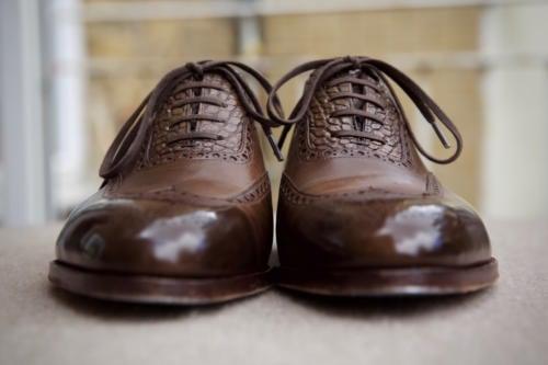 Saint Crispin's shoes alligator