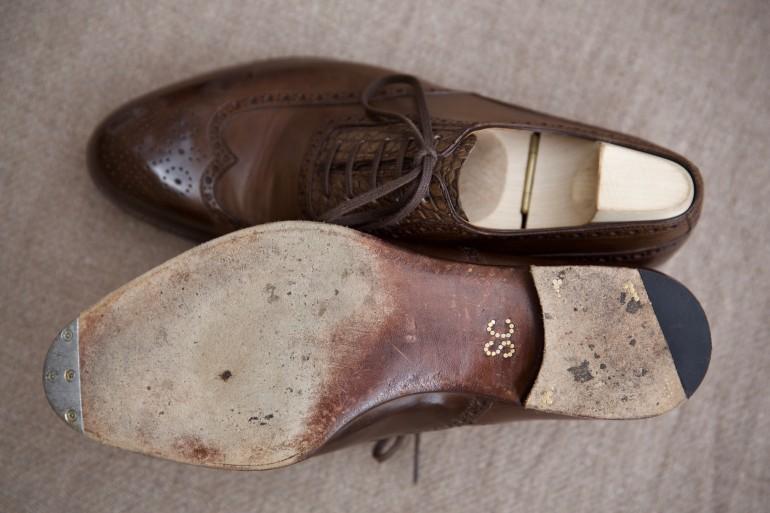 Saint Crispin's shoes bevelled waist