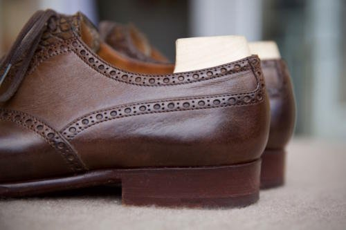 Saint Crispin's shoes heel fit