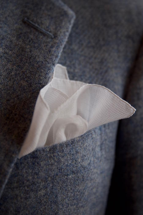 Simonnot-Godard pocket handkerchief