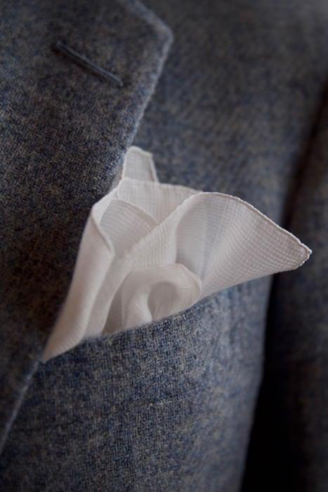 Simonnot-Godard pocket handkerchief
