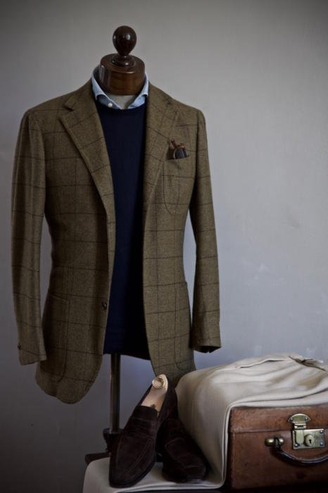bespoke escorial jacket solito