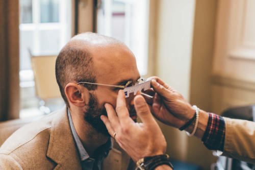bespoke glasses pupillary distance
