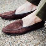 Allan Baudoin Sagan  belgian loafer