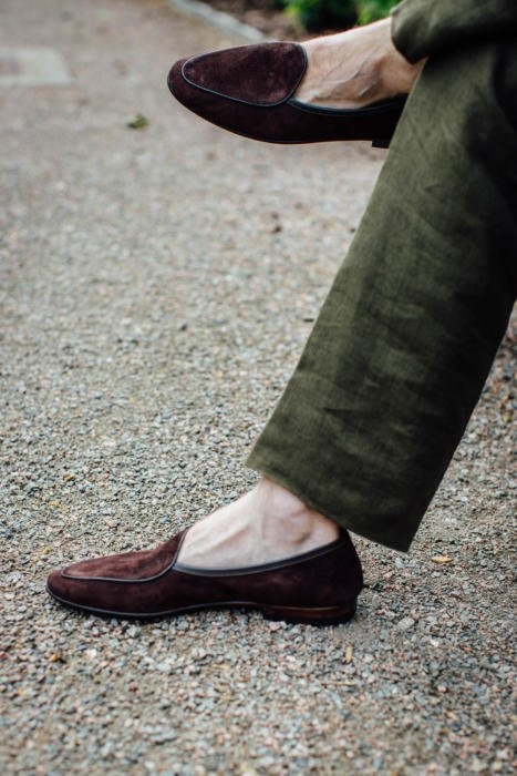 Allan Baudoin Sagan loafer