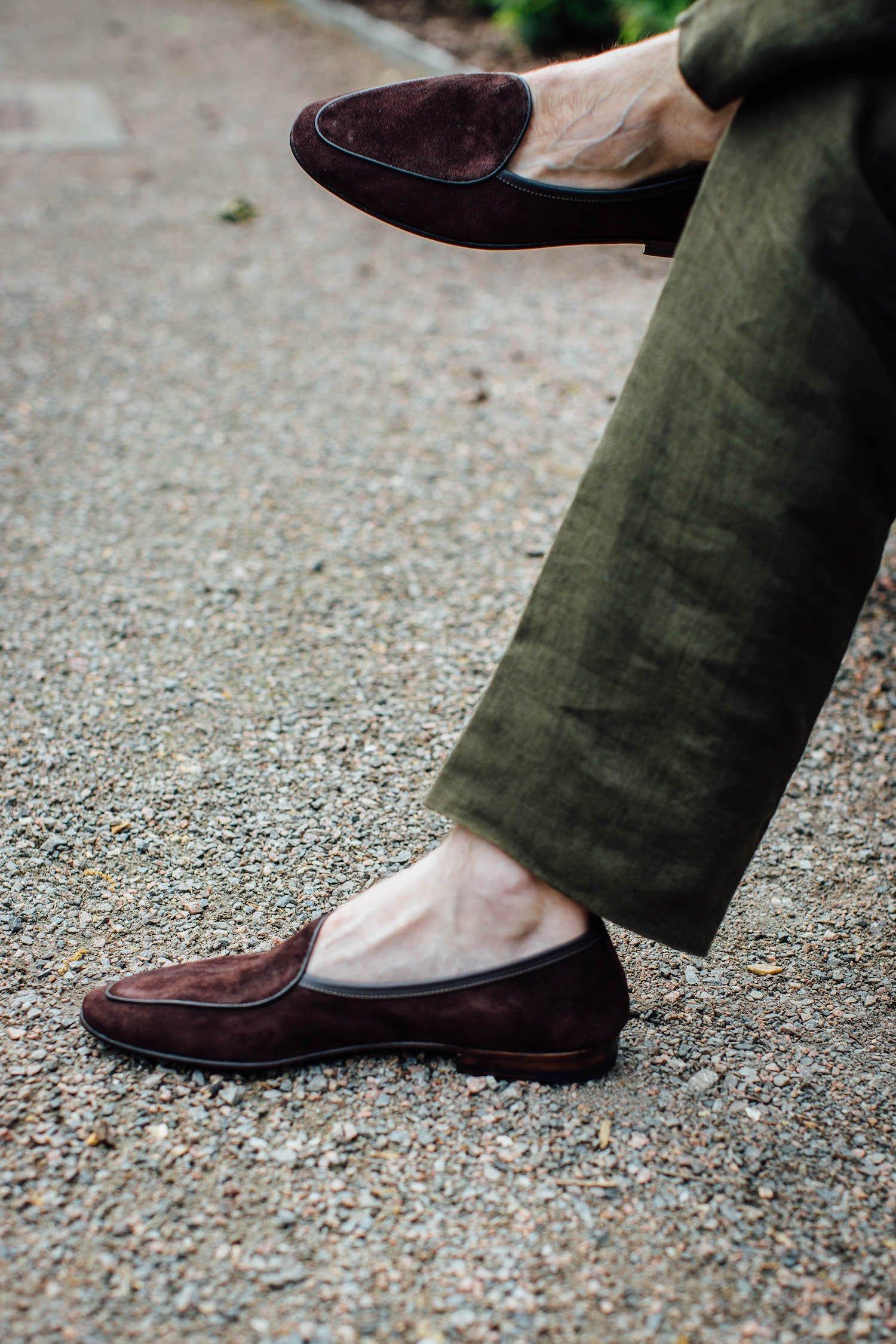 The Sagan: A high-end Belgian loafer