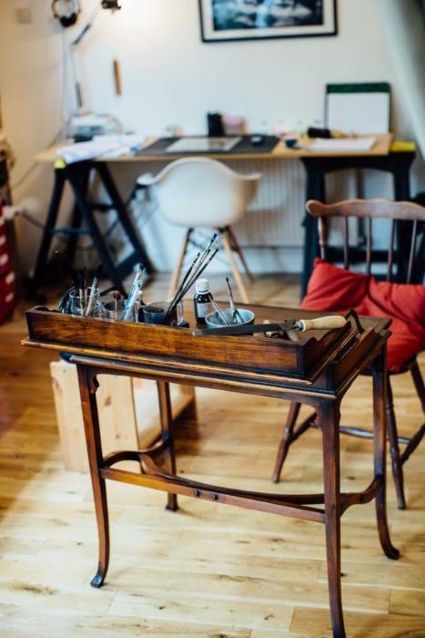 Allan Baudoin workshop