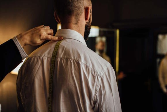 Charvet bespoke shirt measuring