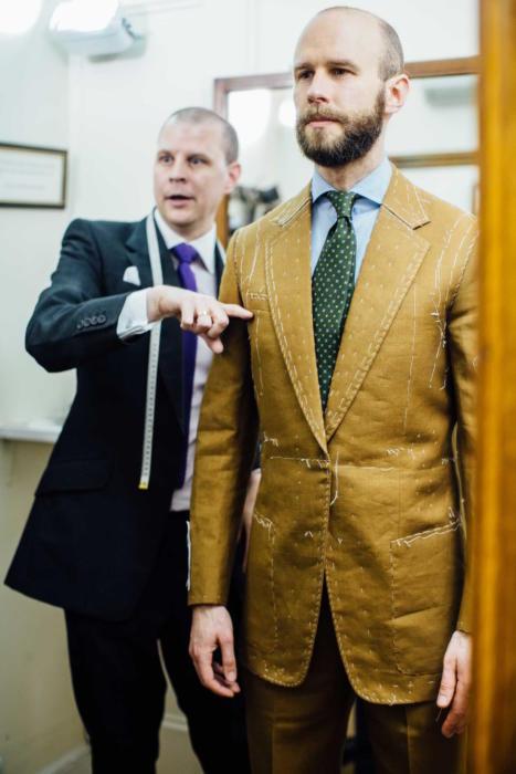 Dege & Skinner bespoke suit