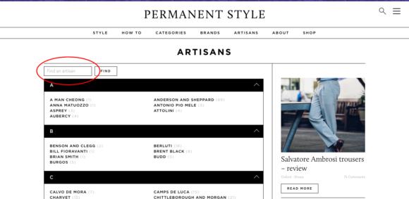 Find an artisan