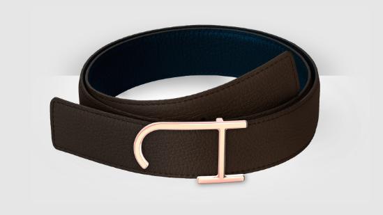 J Hopenstand leather belt