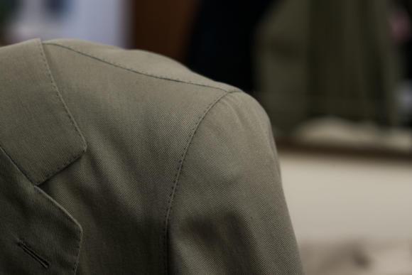 Ferdinando Caraceni bespoke cotton jacket