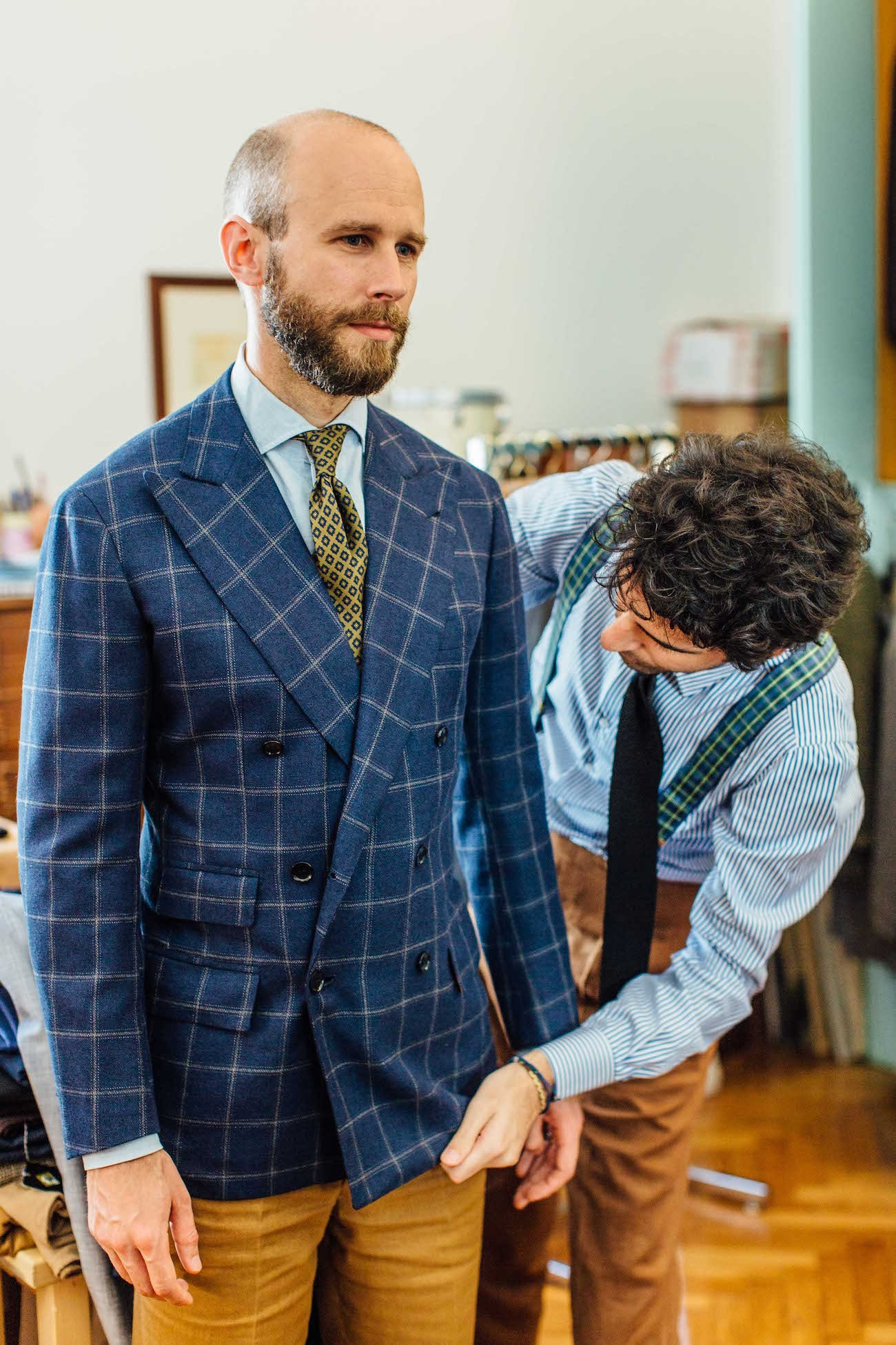 Suit Style 4: Flattering the tall and the short – Permanent Style