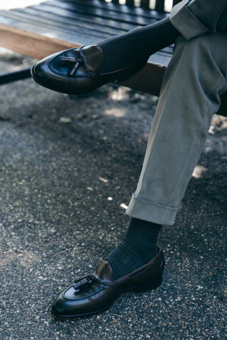 Edward Green Belgravia tassel loafer