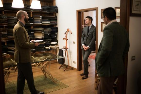 Sartoria Corcos bespoke tailoring