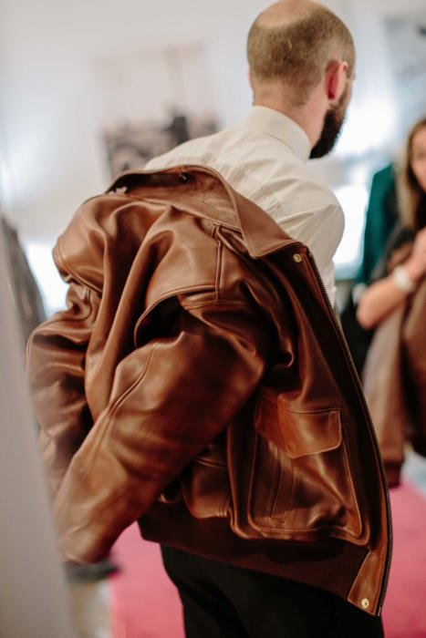 Chapal bespoke leather