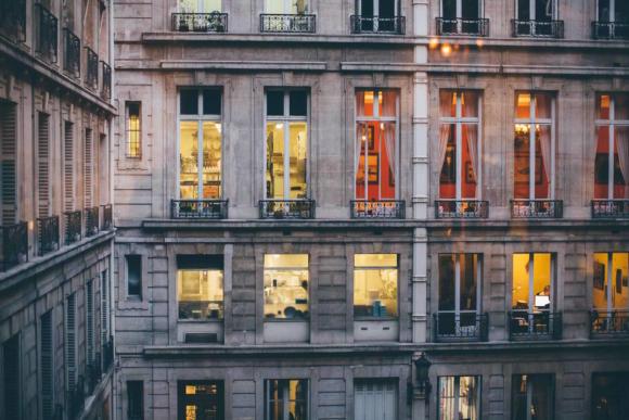 Haussmann Rue de Rivoli Paris