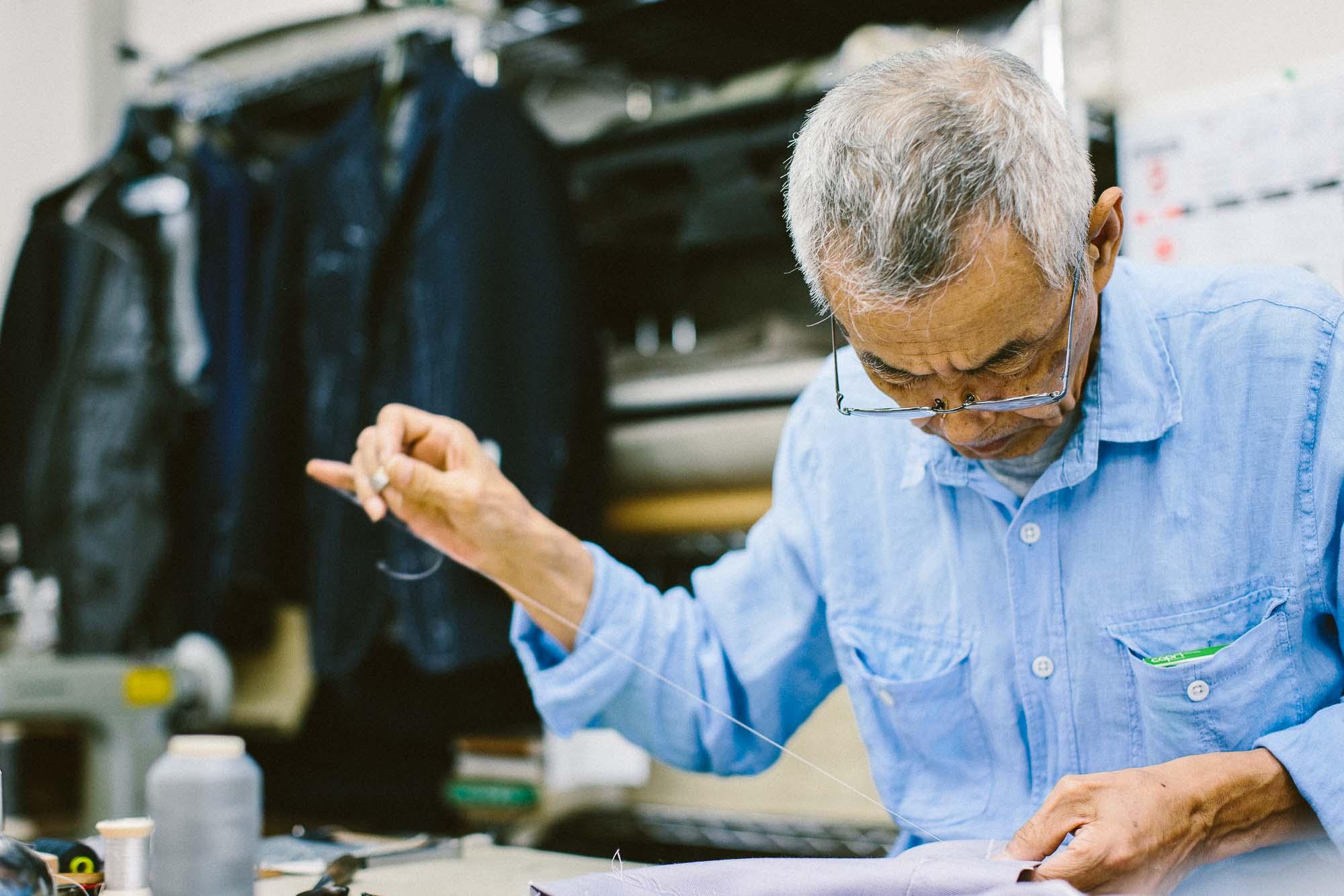 Japanese Tailors Anglofilo Sartoria Domenica Vick