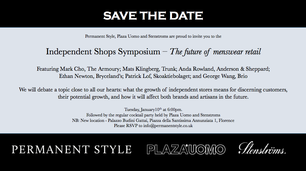 Come To The Next Symposium The Future Of Independent Shops