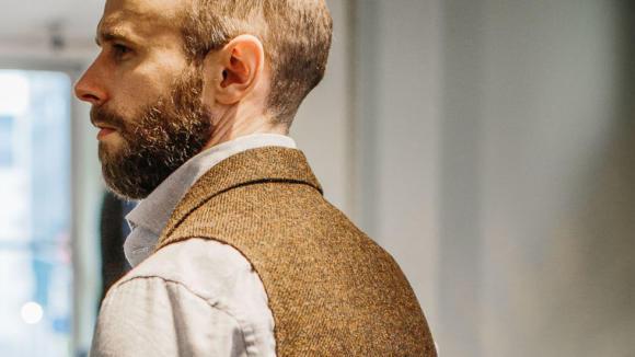 bespoke-harris-tweed-waistcoat