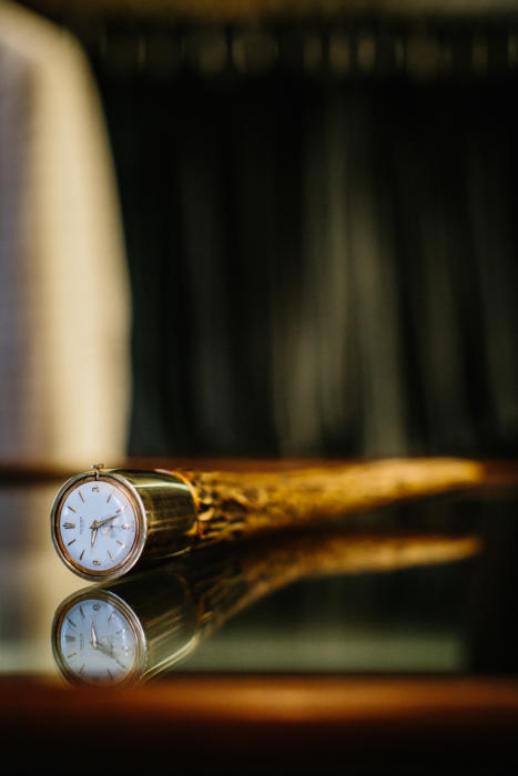 Dunhill archive clock horn