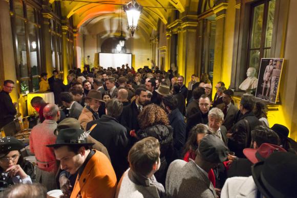 FIRENZE. Evento Plaza Uomo al palazzo Budini Gattai in occasione di Pitti Uomo 91. Foto Tommaso Angiolini